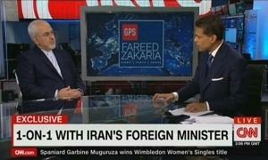سوال اینجاست چرا مسئولان وزارت خارجه در سالروز برجام در مصاحبه با مجری شبکه CNN حاضر شده اند اما حتی یک مرتبه در رسانه های داخلی به میان اهالی رسانه نیامده اند .