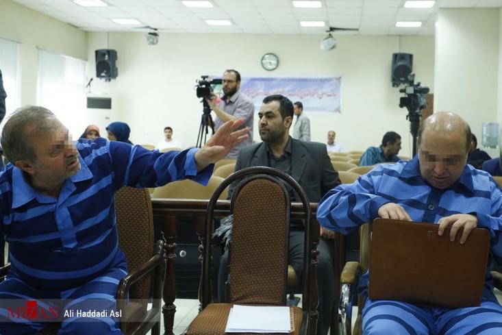 نهمین جلسه رسیدگی به اتهامات دو نفر از همدستان بابک زنجانی صبح امروز 16 مردادماه در شعبه 28 دادگاه انقلاب (شعبه هم عرض) به ریاست قاضی مقیسه آغاز شد.