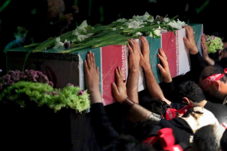 شهید علیزاده، از شهدای دفاع مقدس میهمان ویژه عزاداران هیئت هنر در شام غریبان بود/ عکاس: علیرضا شاطری