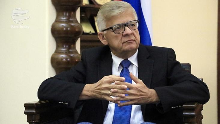 سفیر روسیه در لبنان تأکید کرد در شرایط فعلی، خروج حزبالله و ایران از سوریه ممکن نیست زیرا غلبه بر تروریسم هنوز نهایی نشده است