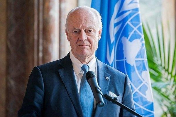 فرستاده ویژه سازمان ملل در امور سوریه خطاب به اعضای شورای امنیت اعلام کرد که مقامات دمشق طرح تشکیل یک کمیته جهت تدوین قانون اساسی جدید برای سوریه را رد می کنند.