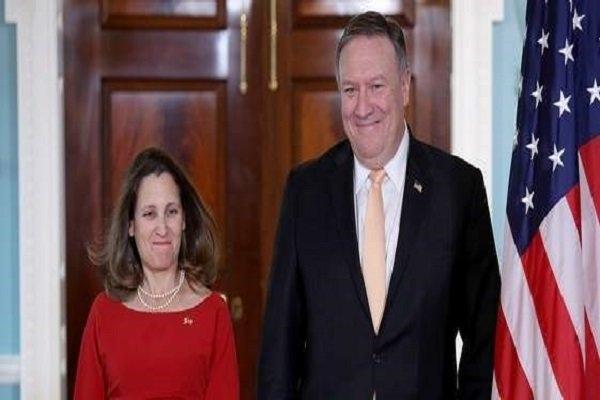 وزیران امور خارجه آمریکا و کانادا بر لزوم اطمینان از واقعیت های قتل جمال خاشقجی روزنامه نگار منتقد سعودی و مجازات عاملان آن تاکید کردند.