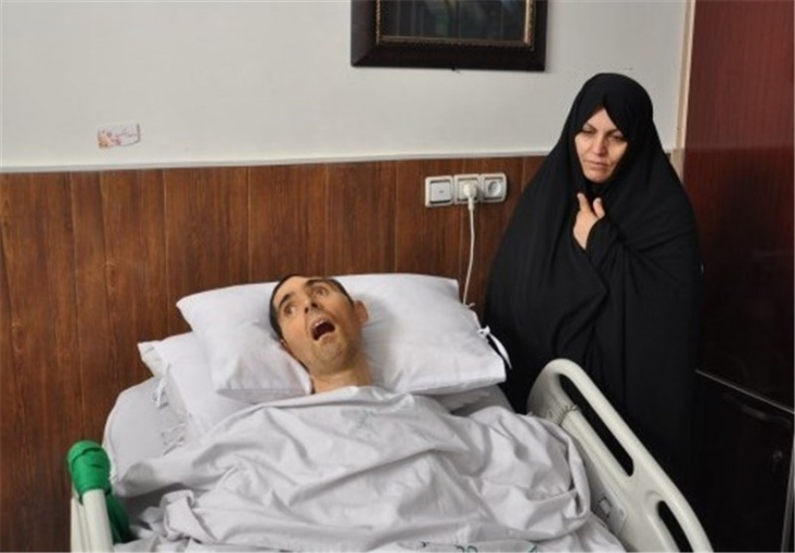 سید نورخدا موسوی جانباز ۱۰۰ درصد لرستانی شب گذشته در شب رحلت پیامبر اکرم (ص) به شهادت رسید.