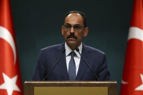 سخنگوی ریاست جمهوری ترکیه خطاب به آمریکا گفت: ما گروههای تروریستی را به گروههای خوب یا بد تقسیم نمیکنیم.