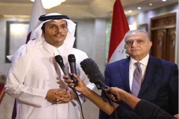 وزیر امور خارجه قطر با اشاره به سفر دو روزه خود به عراق و دیدار با مقامات، مسئولین و روسای احزاب این کشور، گفت که دوحه به حمایت های سیاسی و اقتصادی از بغداد ادامه خواهد داد.