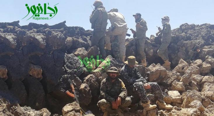 پیشروی نیروهای ارتش و دفاع مردمی سوریه تا نیمه نخست شهریورماه به خوبی پیش رفت و مساحت آلوده در جنوب غرب استان دمشق به 275 کیلومتر رسید اما یک مانع بزرگ سرعت عملیات را در این محور کند کرد.