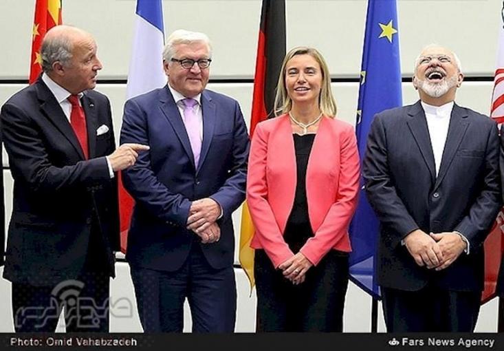 وزیرخارجه در ادامه خبر از اتلاف وقت توسط اروپایی ها داد و تلویحا فاش کرد که اروپا فقط به دنبال باقی ماندن محدودیت های برجام برای ایران است و مانند آمریکا حاضر نیست تعهدات خود در برجام را اجرا کند.