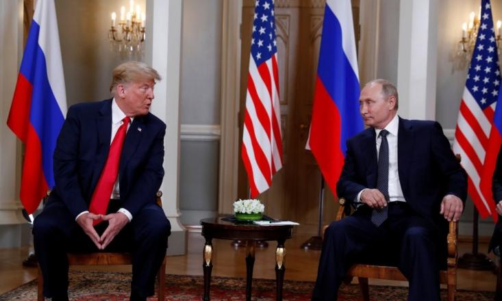 ولادیمیر پوتین رئیس جمهور روسیه در پاسخ به خروج آمریکا از معاهده منع موشکهای میان برد هستهای موسوم به INF، عضویت مسکو در این پیمان را به حالت تعلیق درآورد