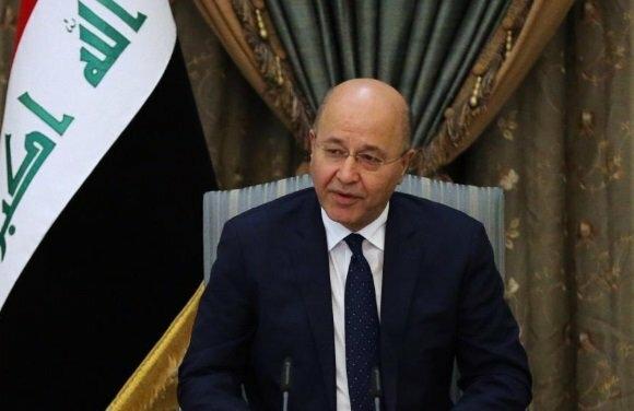رئیس جمهور عراق گفت: من این را باید بگویم که عراق بخشی از منظومه تحریمهای یکجانبه آمریکا علیه ایران نخواهد بود. شکی نیست که ما از این تحریمها متاثر خواهیم شد اما قطعا جزئی از آن نخواهیم بود.