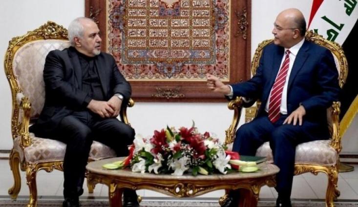 """سفر """"محمد جواد ظریف"""" وزیر خارجه ایران به عراق در سایه تنش های منطقه ای و بین المللی، مورد توجه رسانه های عرب زبان قرار گرفته است."""