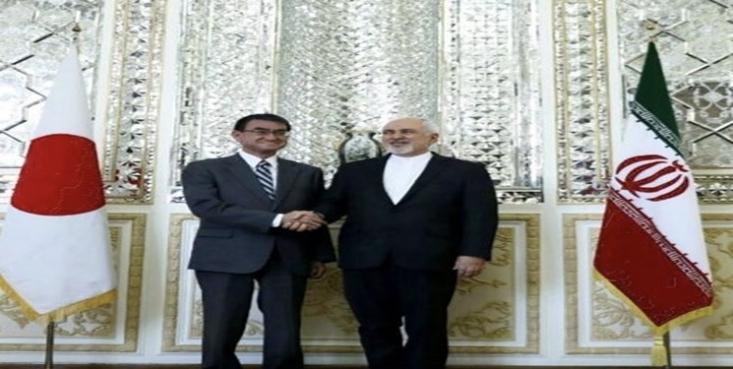 وزیر خارجه ژاپن با ظریف همتای ایرانی خود دیدار کرد.