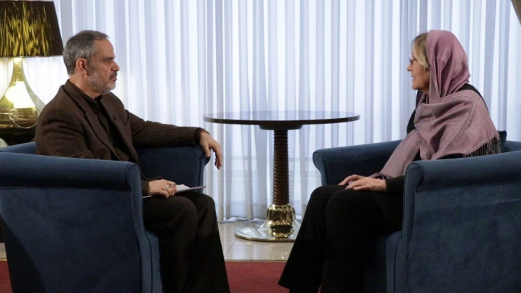 مری آن رایت دیپلمات سابق آمریکا در افغانستان تاکید کرد که  حمایت از دیکتاتور و فروش سلاح به تروریسم سیاست اصلی آمریکا در منطقه است.