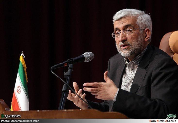 جلیلی گفت: «دیپلماسی در برابر دیپلماسی» پسندیده است اما «دیپلماسی در برابر فشار» به هیچ وجه عقلانی نیست. پذیرش گفتگو در برابر رژیمی که راهبردش علیه ملت ایران فشارحداکثری است، برای ملت ایران قابل قبول نیست.