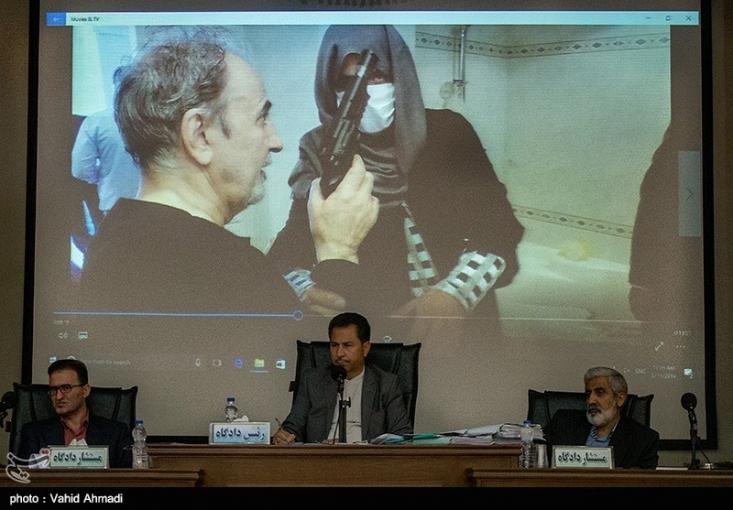 صحنه به قتل رسیدن میترا استاد توسط محمدعلی نجفی امروز با حضور هیئت قضایی و کارشناسان اسلحه مجدداً بررسی میشود.