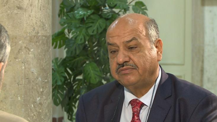 واثق الهاشمی رئیس مرکز مطالعات استراتژیک عراق در برنامه تلویزیونی «بدون مرز» تاکید کرد که جنگ علیه ایران باعث آغاز جنگ جهانی سوم خواهد شد و همه را درگیر خواهد کرد.