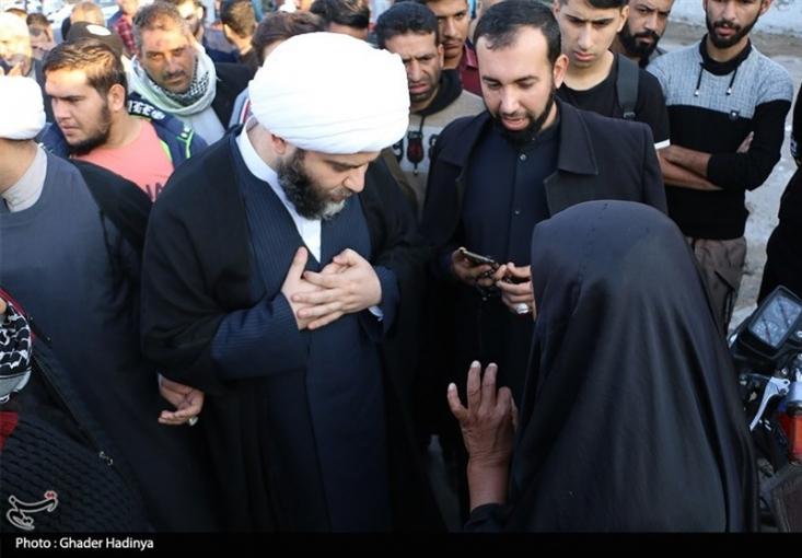 رییس سازمان تبلیغات اسلامی با حضور در شهرک طالقانی (کورهها) ماهشهر با مردم این شهرک دیدار کرد.