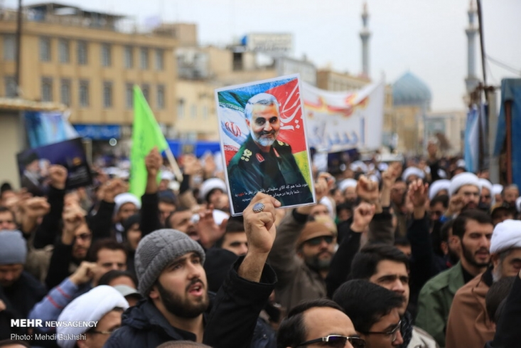 مردم شهر های مختلف، با برگزاری راهپیمایی و عزاداری، به شهادت حاج قاسم سلیمانی واکنش نشان دادند.