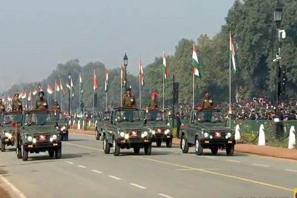 امروز یکشنبه هفتادویکمین مراسم سالگرد روز جمهوری هند با حضور شخصیت های هندی و بین المللی برگزار شد.