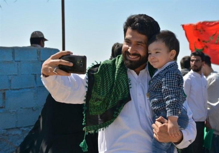 مراسم چهلمین روز شهادت جانباز فاطمیون، محمد جعفر حسینی ملقب به «ابوزینب» برگزار میشود.