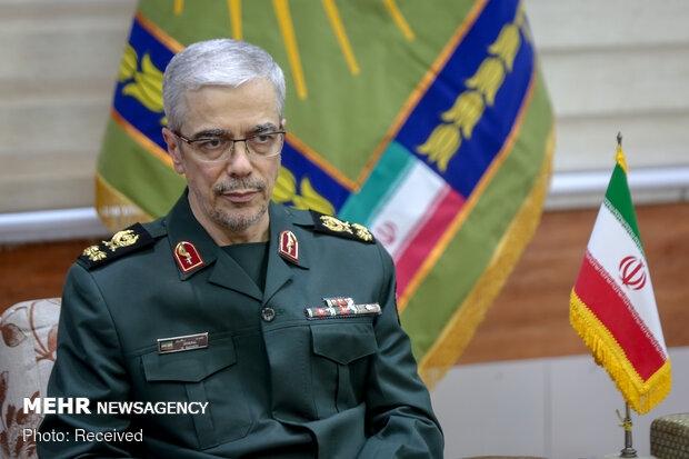 رئیس ستاد کل نیروهای مسلح گفت: نام سپاه بر فراز قلههای اقتدار، پیشرفت و عزت این سرزمین میدرخشد.
