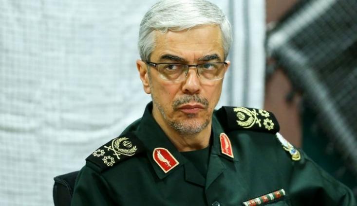رئیس ستاد کل نیروهای مسلح تاکید کرد: هر گونه خطای محاسباتی آنان در هر نقطه از جهان علیه منافع ملی ایران عزیز را قاطعانه با پاسخ درخور مواجه خواهیم ساخت.