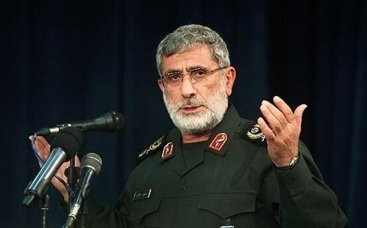 حضور سردار قاآنی در منزل شهید پورجعفری، به خبرسازی دروغ رسانههای وابسته به دربار سعودی و رژیم صهیونیستی پیرامون زخمی شدن او در حمله شب گذشته اسرائیل به دمشق پایان داد.