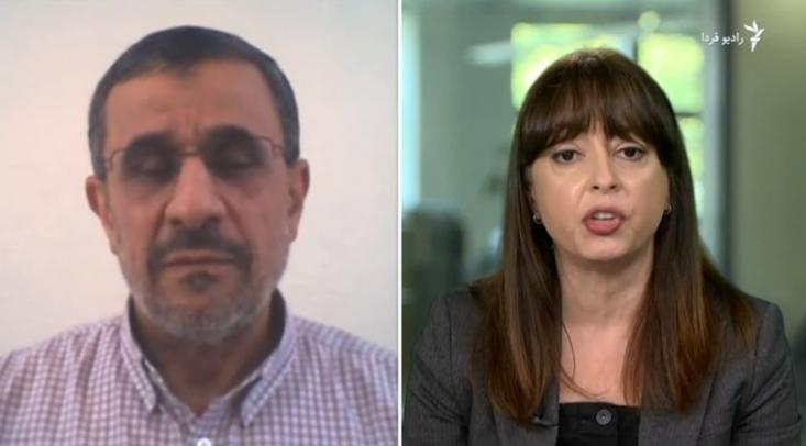 در این مصاحبه نیز مانند مصاحبههای اخیر وی با بیگانگان خبری از احمدینژاد جسور و انقلابی با پاسخهای کوبنده و قانع کننده خطاب به دشمنان مردم ایران نیست.