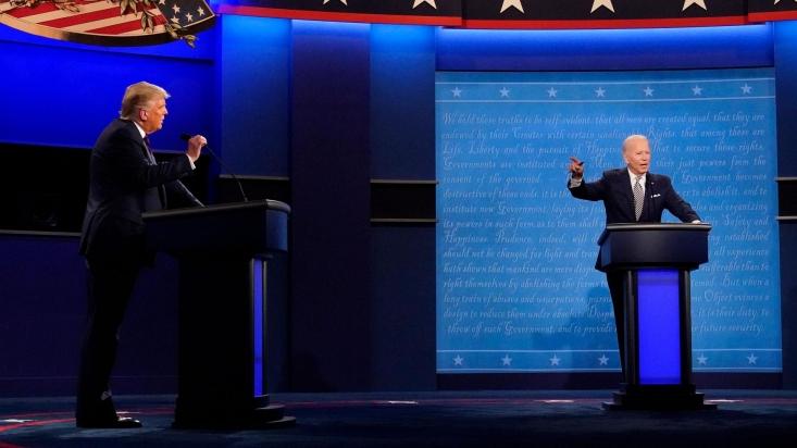 جو بایدن، معاون رییسجمهور سابق آمریکا و نامزد دموکراتها در انتخابات، گفت در دوران ریاستجمهوری ترامپ آمریکا ضعیفتر، بیمارتر، فقیرتر و پراختلافتر شده است.