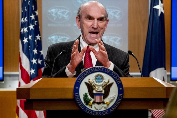 الیوت آبرامز، نماینده ویژه آمریکا در امور ایران در گفتوگو با شبکه الشرق الاوسط گفت که فشار حداکثری تا تغییر رفتار ایران ادامه مییابد و هیچ تفاوتی ندارد که رئیسجمهور آینده آمریکا چه کسی باشد.