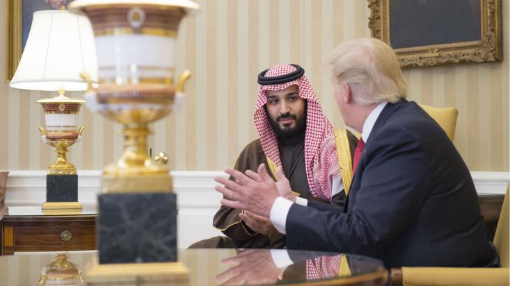دوران ریاست جمهوری ترامپ به روابط ویژه وی با «بنسلمان» و «نتانیاهو» در خاورمیانه گره خورده است. اکنون که او کاخ سفید را ترک میکند بیم و امیدهایی درباره ادامه سیاست افراطی ترامپ در حمایت از جنایات عربستان و رژیم صهیونیستی شک گرفته است.