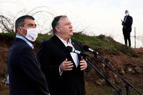 وزارت خارجه سوریه اقدام غیرقانونی وزیر خارجه آمریکا در ورود به جولان اشغالی سوریه را شدیداً محکوم کرد و آن را نقض آشکار حاکمیت این کشور برشمرد.